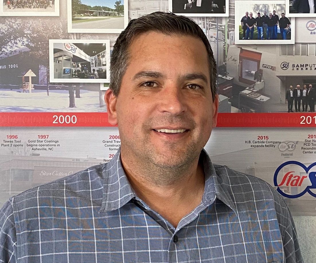 Thomas Giglio, General Manager for Star SU's Tawas Tool operations.